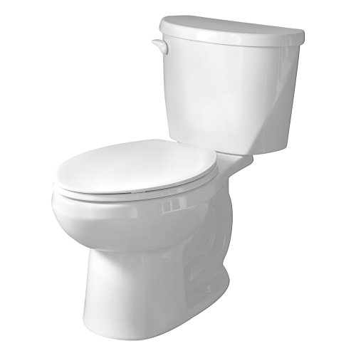 American Standard 2753.128.020 Evolution 2 Elongated Two-Piece Flowise 1.28 gpf Toilet, White