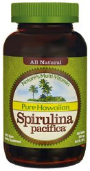Nutrex Hawaii Pure Hawaiian Spirulina Pacifica--500 mg - 400 comprimés