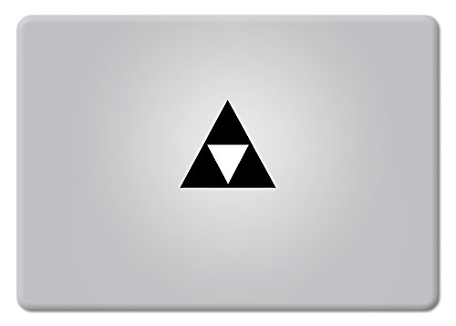 Legend of Zelda TriForce Logo Small Macbook Decal Vinyl Stic