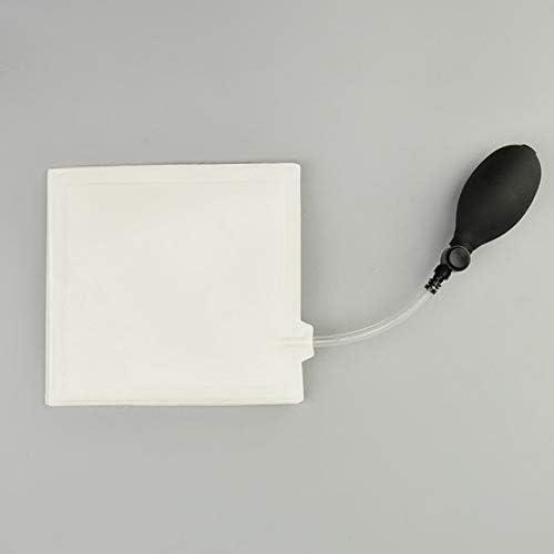 窓取り付け位置エアクッションツール用インフレータブルエアポンプ-ホワイト