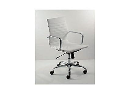 Outlet silla Design - Silla oficina Art. 919 B Zen baja: Amazon.es ...