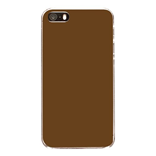 "Disagu Design Case Coque pour Apple iPhone 5 Housse etui coque pochette ""Braun"""