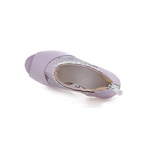 Adee - Sandalias de vestir para mujer morado claro
