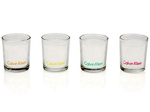 Scented Votive Candle Gift Set - 4 Candles Calvin Klein Candle