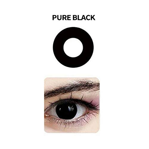 Multi-Color Cute Contact Lenses Color Blends Cosplay Eyes