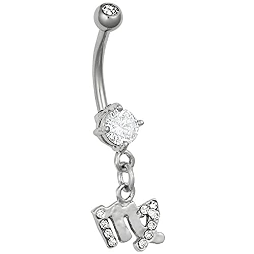 Virgo belly button rings