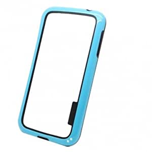PC+TPU Bumper Frame Protective Case For Samsung Galaxy S4 I9500 --- Color:White