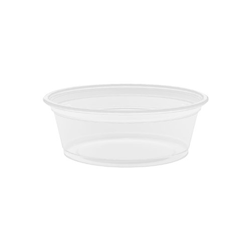 Dart 150PC 1 .5 oz Clear PP Portion Container (Case of 2500) ()