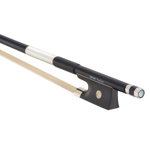 Shar Fusion Carbon Composite Violin Bow 1/4 Size by Shar Music