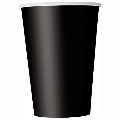 9oz Black Paper Cups 14ct product image