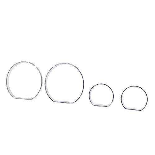 Festnight Dashboard Trim Chrome Speedometer Frame Gauge Cluster Dashboard Bezel Rings Trim Dial Dash Covers for BMW E46 1999-2006: Amazon.co.uk: DIY & Tools