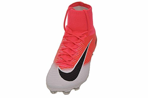 Nike Mens Mercurial Superfly Fg Cleat (nero, Verde Elettrico) Racer Rosa / Nero - Bianco