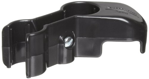 Rubbermaid Commercial Lobby Pro Dustpan Hanger Bracket, Black (FG253500BLA)
