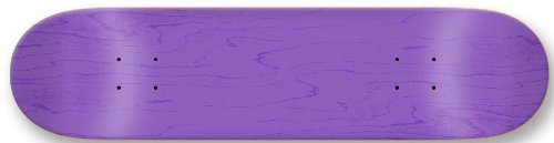 Moose Blank Skateboard Deck, Stained Purple, 7.75-Inch DMB-77SPUR