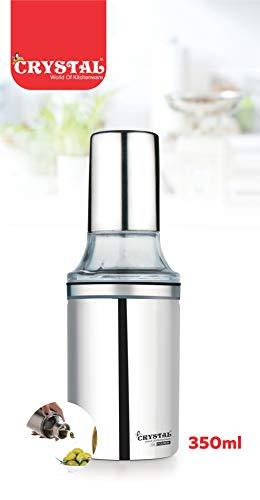 Crystal-Stainless-Steel-Oil-PourerDispenser-350-ml-Silver