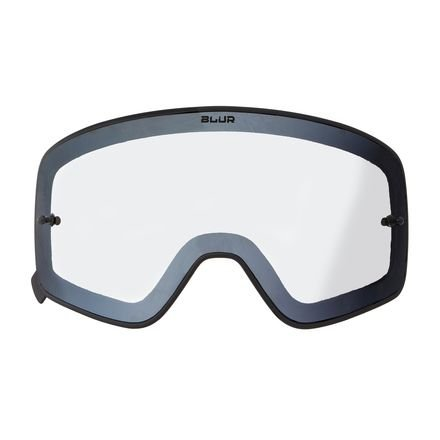 Blur B-50 Goggle Spare Magnetic Lens Clear (Spare Clear Lenses)
