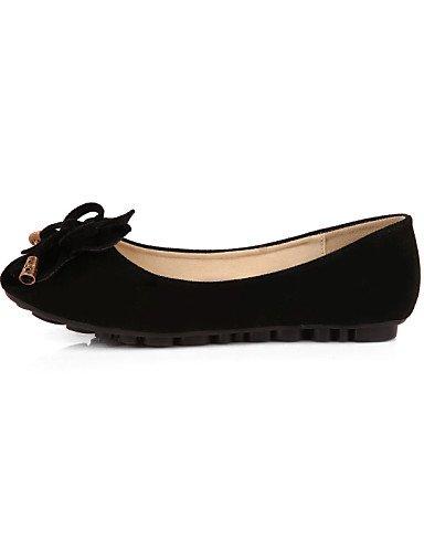 eu41 mujer cerrado Casual black Mocasín plano negro talón de 5 Redonda 8 Punta 5 uk7 zapatos PDX Flats rosa us9 amarillo Toe cn42 de 10 azul morado ante tipo Pwqt8S6