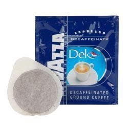 Lavazza Dek Decaffeinated Espresso Pods (case of 108)