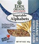 Eden Foods Vegetable Alphabets (3X16 Oz.)