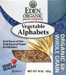 Eden Foods Vegetable Alphabets (3X16 Oz.) by Eden