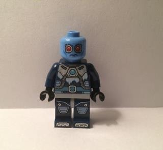 The LEGO Batman Movie MiniFigure - Mr. Freeze (Set 70901)