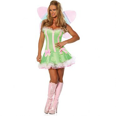 Sexy Pretty Fairy Costume - (Absinthe Fairy Halloween Costume)