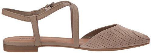 Indigo Rd. Women's Genetic Ballet Flat, Medium Natural Natural