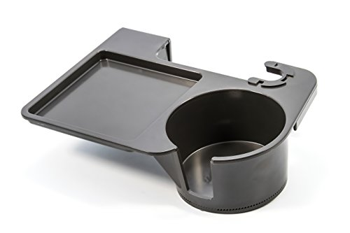 Camco Chair Mounted Beverage & Snack Tray, Conveniently Hold Drinks and Snacks, Great for Tailgating, Concerts and Festivals