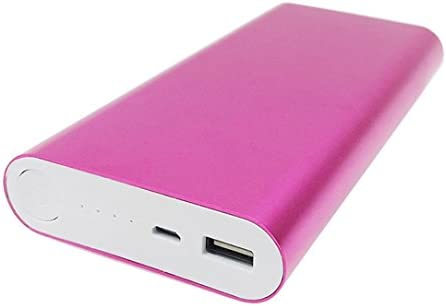 taottao 5 V 2 A USB 8 X 18650 DIY Cargador de batería portátil Holder Kit Power Bank Caso Caja, hot pink: Amazon.es: Deportes y aire libre