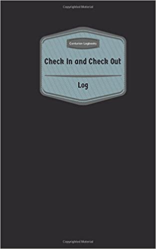Check In & Check Out Log (Logbook, Journal - 96 pages, 5 x 8 inches): Check In & Check Out Logbook (Purple Cover, Small) (Centurion Logbooks/Record Books)