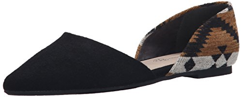 Footwear Exotic Flat Ballet Society tan Black BC Women's dtFwBIq