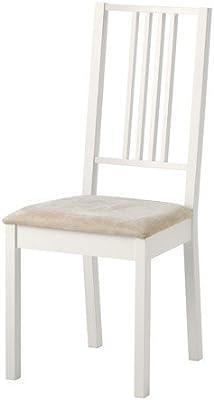 Ikea börje silla en color blanco; desenfundable kungsvik Color ...