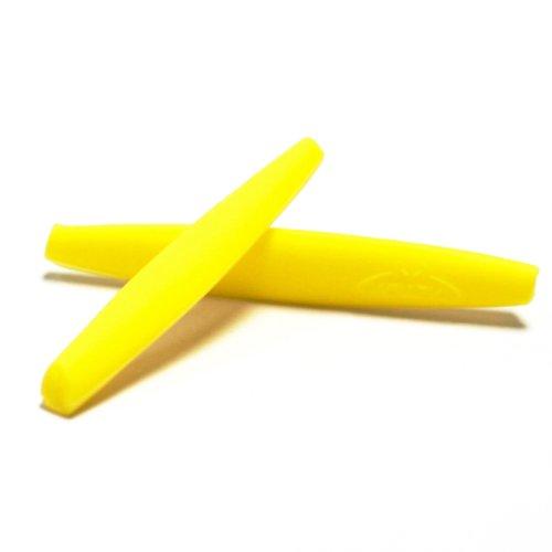 Walleva Earsocks for Oakley M Frame Series Sunglasses - Multiple Options Available (Yellow) -  WE005-YL