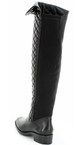 Andre Assous Mujeres Stagecoach Impermeable Negro Acolchado