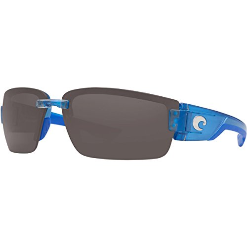 Costa Del Mar Rockport Men's Polarized Sunglasses, Sky Blue/Gray 580P, Large