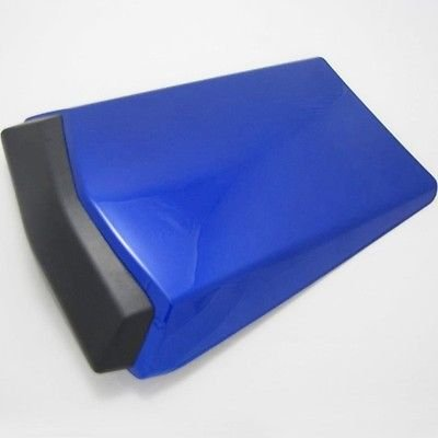 FATExpress Motorcycle Blue Rear Passenger Pillion Seat Cowl Pad Hard ABS Motor Fairing Tail Cover for 2002-2003 Yamaha YZF R1 1000 02-03