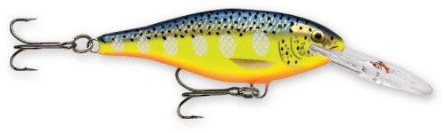 Rapala Shad Rap 07 Fishing lure, 2.75-Inch, Hot Steel