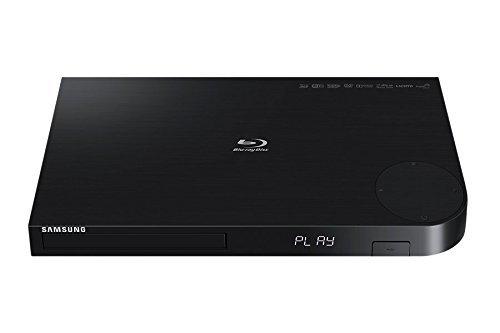 Samsung BD-JM63 3D Blu-Ray Player, Black (Certified Refurbished)