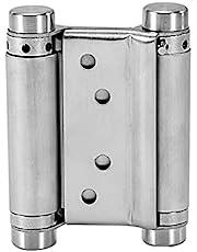 Tucireat Pendeldeurscharnier roestvrij staal 1 stuk 92 mm pendeldeurscharnier roestvrij staal pendeldeurscharnier deurscharnier pendelscharnier klapdeur scharnier voor pendelscharnier