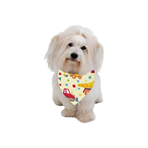 (Easter Pet Dog Cat Bandana Toy Tractor Child Retro Creative Art Painting Cartoon Animation Fashion Printing Bibs Triangle Head Scarfs Kerchief Accessories For Large Dog Cat Pet Birthdays Party Gifts )