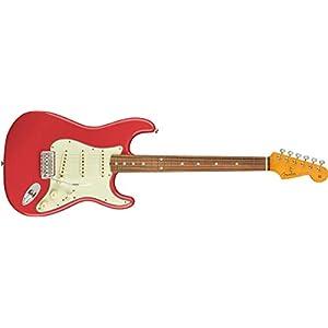 Classic '60s Strat Lacquer PF Fiesta Red
