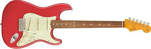 Fender Classic Series '60s Stratocaster Lacquer, Pau Ferro Fingerboard, Fiesta Red