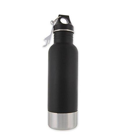 Bottle Armour Black Bottle Insulator with Bottle Opener