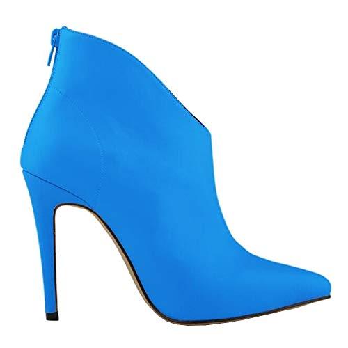 Bleu 5 Bottes Femme 36 Renly pour 1 Ni769 Bleu wnqHxSCSTp