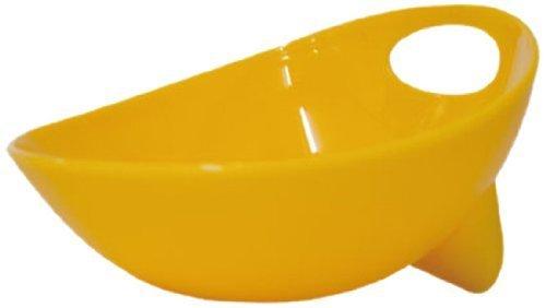 Wetnoz 23564 3-Cup Studio Scoop Dog Dish, Medium, Sun