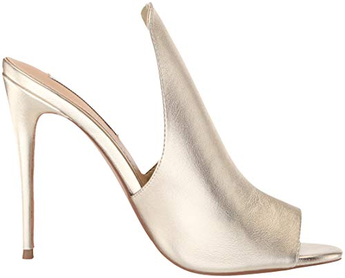 Gold Women's Sandal 5 Sinful M Us Heeled Madden 8 Steve q51wXAIx