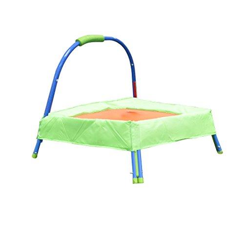 Lqz Tm Kids Child Jumper Trampoline With Padded Mat