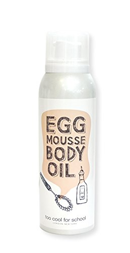 [too cool for school]EGG MOUSSE BODY OIL 150ml korean beauty