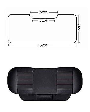Sin Respaldo HONCENMAX Funda de Asiento para Autom/óvil Amortiguar Almohadilla Estera Protector para Suministros de Autom/óviles para Sed/án Hatchback SUV 1 Paquete de Cubierta de Asiento Trasera