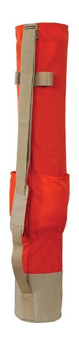 SECO 48 Inch Lath Stake Bag with Pockets Heavy Duty Rhinotek Cordura 8101-20-ORG